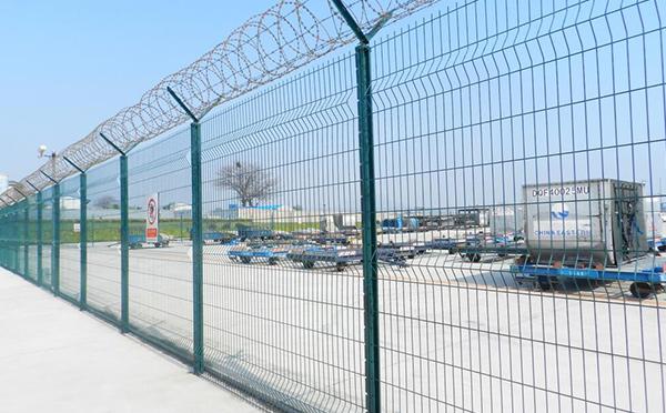 机场隔离栅案例